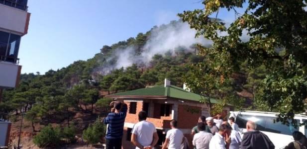 Reşadiye'de, orman yangını büyümeden söndürüldü