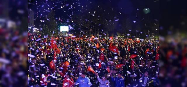 Erbaa'da Cumhuriyet coşkusu