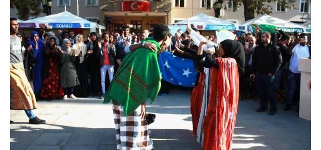 Tokat'ta yabancı öğrenciler, kültürlerini tanıttı