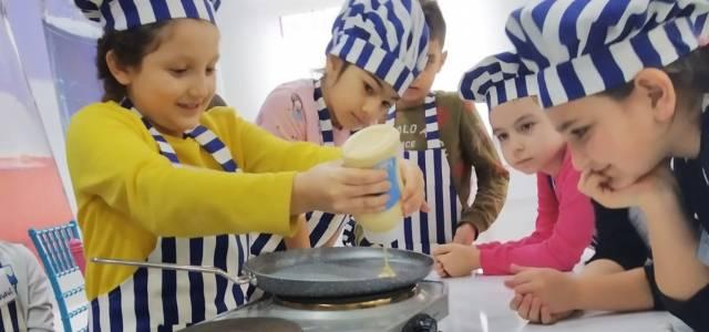 Erbaa Bilim Park'ta gastronomi atölyesi açıldı