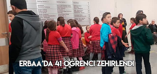 Erbaa'da 41 öğrenci, gıda zehirlenmesi şüphesiyle hastaneye kaldırıldı
