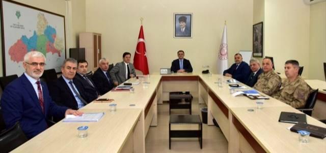 GAMER izleme değerlendirme ve koordinasyon kurulu toplantısı yapıldı
