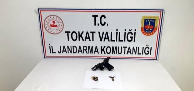 Tokat'ta esrar operasyonu, 2 gözaltı