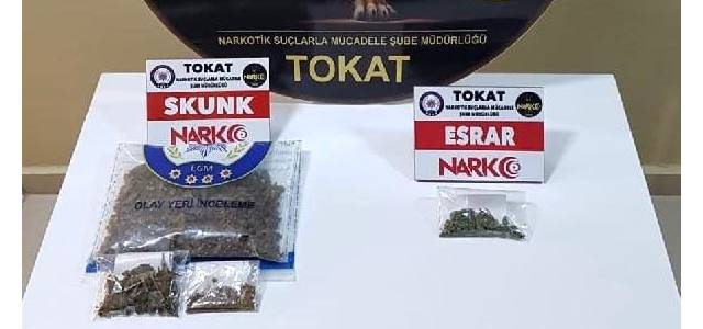 Tokat'ta koyun yüklü TIR'da uyuşturucu ele geçirildi