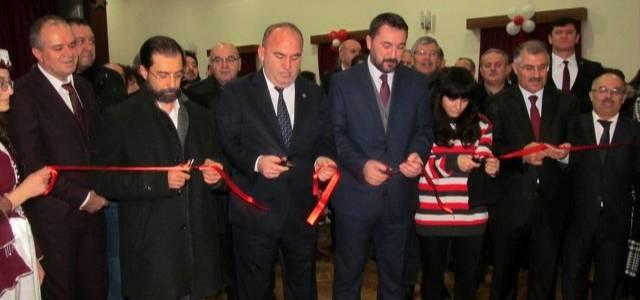 Turhal'da kitap fuarı açıldı
