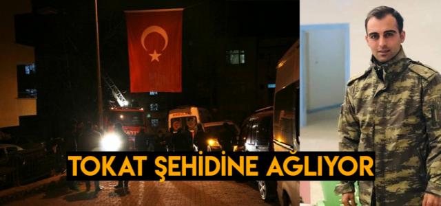 Şehit Sinan Bilir'in acı haberi Tokat'taki ailesine ulaştı