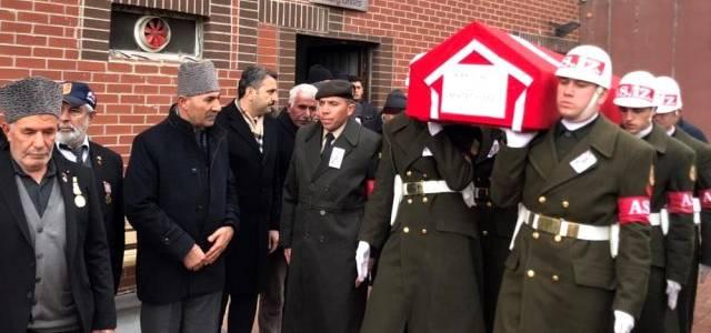 Tokatlı Kıbrıs Gazisi son yolculuğuna askeri törenle uğurlandı