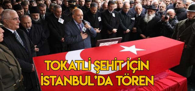 Tokatlı şehit Berkay Işık için İstanbul'da tören