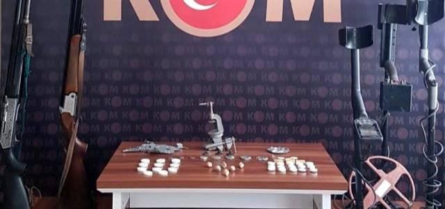 Tokat merkezli 5 ilde tarihi eser operasyonu: 25 gözaltı