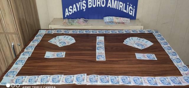 Niksar'da sahte para verdiler Erbaa'da yakalandılar