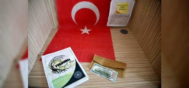 Tokat'taki KYK yurdunda kalanlar ayrılırken zarf içinde 10 Kuveyt Dinarı bıraktı