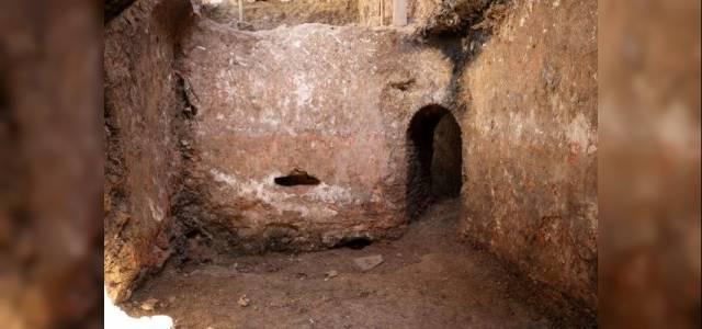 Tarihi hamamın altından başka bir hamam çıktı