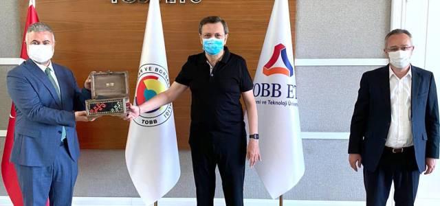 ETSO Hisarcıklıoğlu ile görüştü
