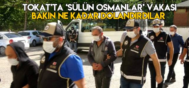 Tokat'ta sülün osmanlar vakası