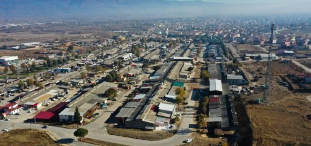 Küçük Sanayi Sitesi'nde altyapı, yağmur suyu drenaj ve asfalt çalışması başladı