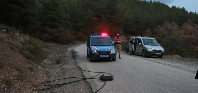 Erbaa'da kablo hırsızları 6 köyü internetsiz bıraktı
