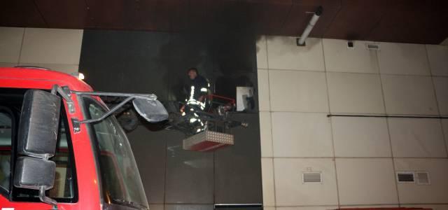 Tokat'ta baca yangını bankaya sıçradı