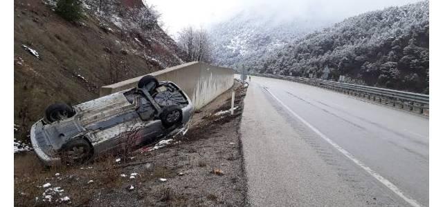 Tokat'ta otomobil devrildi: 2 yaşındaki Zeynep öldü, 3 yaralı