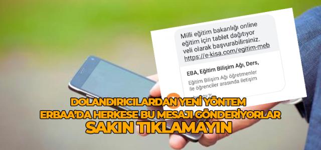 Erbaa'da telefon dolandırıcılardan yeni yöntem sakın tıklamayın