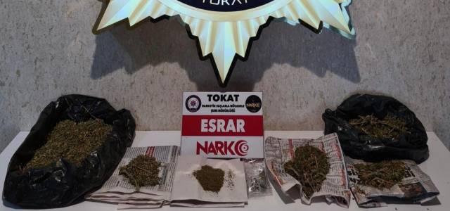 Erbaa'da uyuşturucu operasyonu: 3 tutuklama