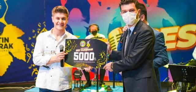 Erbaa'da düzenlenen ses yarışmasının kazananları belli oldu