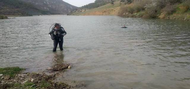 Gölette boğulan gencin cansız bedenine ulaşıldı