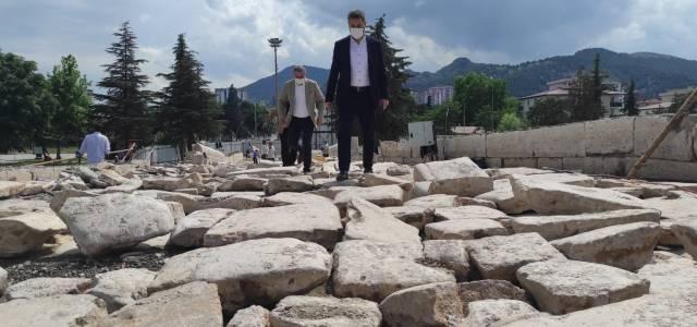 Başkan Eroğlu: Tarihe şahitlik eden eserleri gün yüzüne çıkarıyoruz