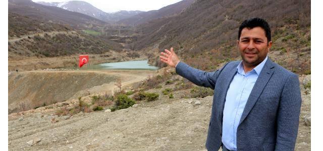 Tokat'ta ömrünü tamamlayan gölet 1,5 milyon liraya 14 ayda yenilendi
