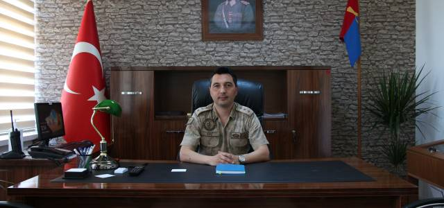 Yeni İlçe Jandarma Komutanı Yüzbaşı Mustafa Açık görevine başladı