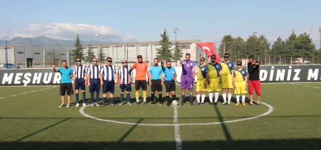 Görme Engelliler 2'inci lig maçları Erbaa'da oynanıyor