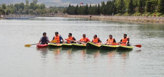 Erbaa'da kano etkinliği