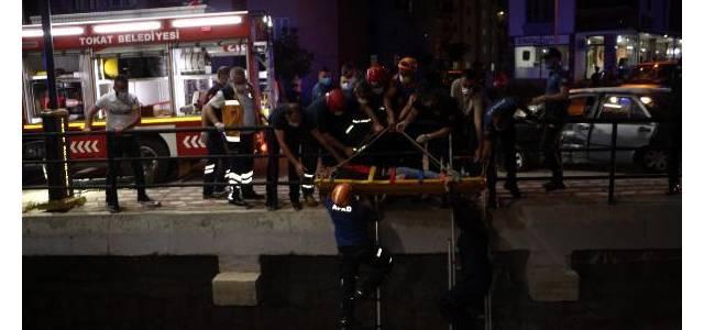 Tokat'ta kaza 4 yaralı