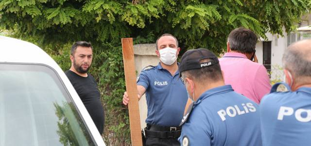Erbaa'da doktora çivili tahtayla saldırı