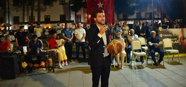 Erbaa'da sokak basketbol turnuvası tamamlandı
