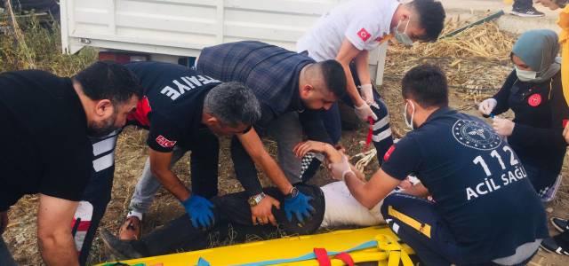 Erbaa'da kaza 1 ölü, 1 yaralı