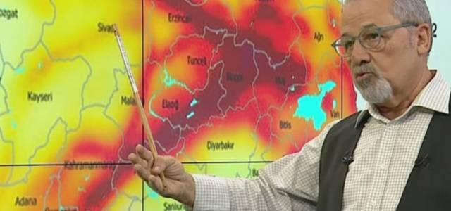 Prof. Dr. Naci Görür Niksar'da dün olan depremi yorumladı
