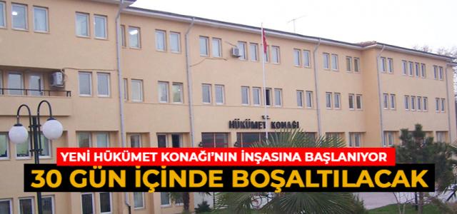 Erbaa'da yeni hükümet konağının yapımına başlanıyor