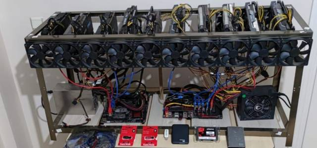 Tokat'ta kripto para üreten kişiye operasyon