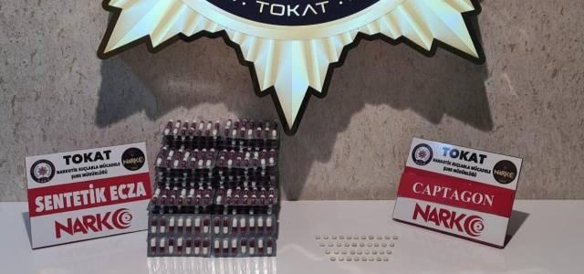 Tokat'ta uyuşturucu operasyonunda 1 tutuklama