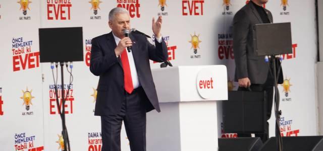 Başbakan Binali Yıldırım Tokat'da