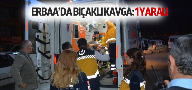 Erbaa'da Bıçaklı Kavga: 1 Yaralı