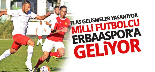 Erbaaspor'da Son Dakika Gelişmeleri: Milli Futbolcu Erbaaspor ile...