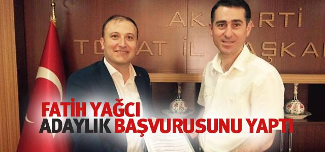 Fatih Yağcı AK Parti'den Başvurusunu Yaptı
