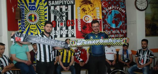 Fenerbahçe ve Beşiktaş Taraftarını Bir Araya Getiren Proje