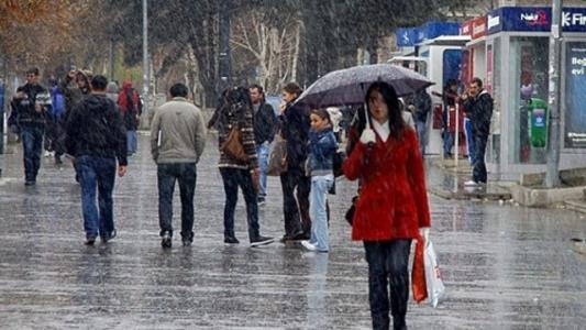 Meteorolojiden 3 bölge için kuvvetli yağış uyarısı