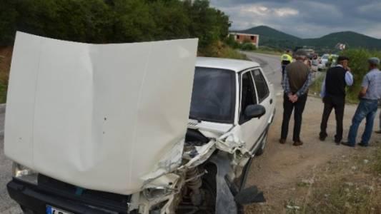 Niksar'da Trafik Kazası: 1 Yaralı