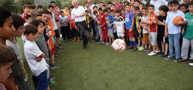 Reşadiye'de yaz spor kursları açıldı