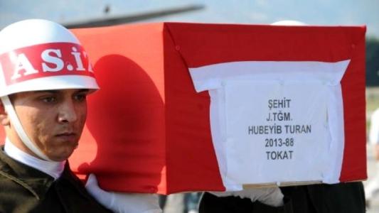 Şehit Teğmen Turan'ın Memleketinde Büyük Üzüntü