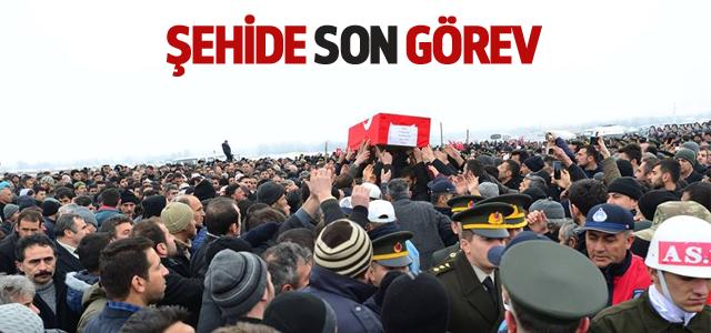 Şehit Uzman Çavuş Osman Ateş, Son Yolculuğuna Uğurladı