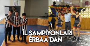 Erbaalı öğrenciler Tokat şampiyonu oldu
